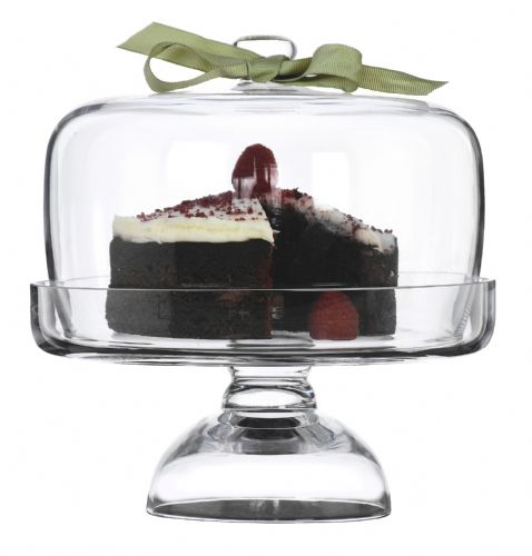 Cake Stand & Dome 21cm